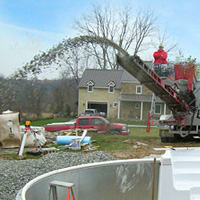 Contact ICCA Spreading Gravel Stones in Construction Contracting